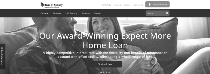 New Bank of Sydney website launched