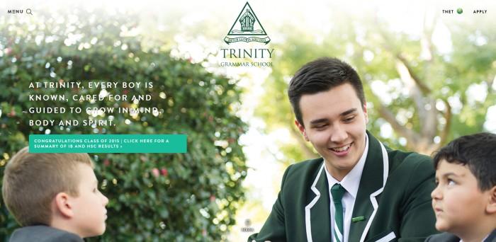 TrinityHomePage