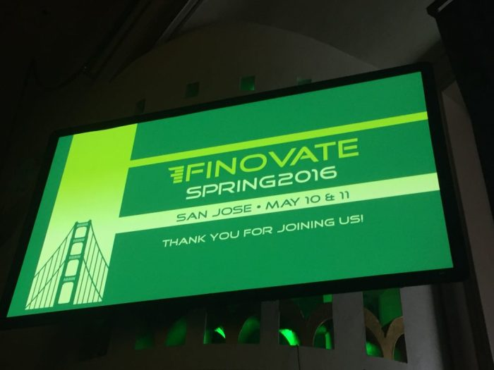Finovate Spring 2016 – Day 1 Highlights